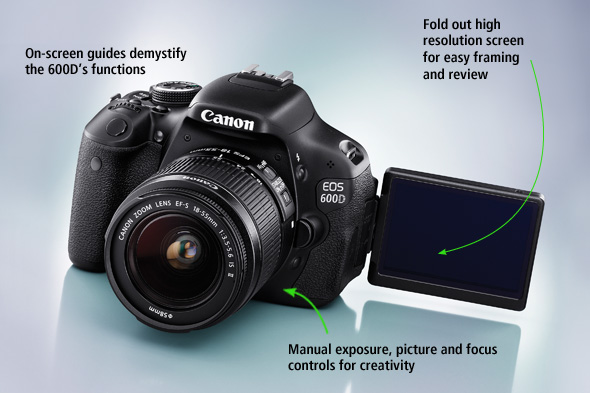 Canon 600D DSLR Camera Settings