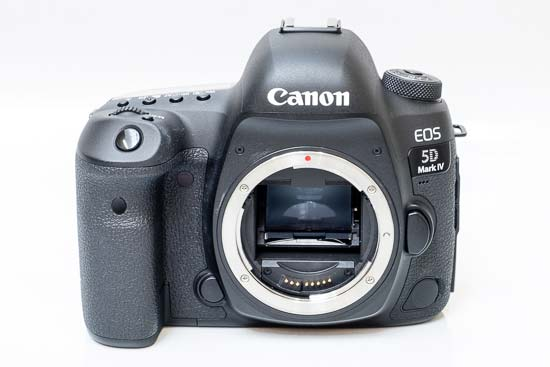 Front of the Canon EOS 5D Mark IV