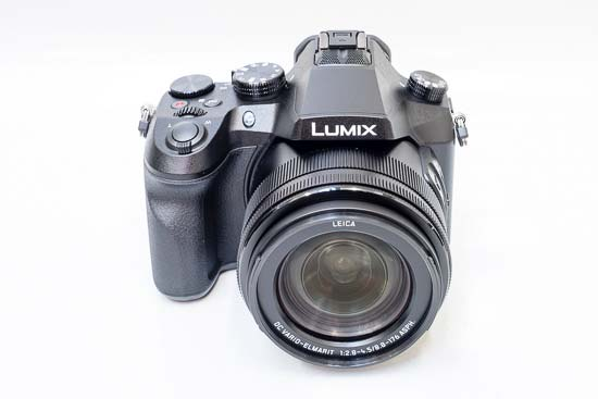 Front of the Panasonic Lumix DMC-FZ2000