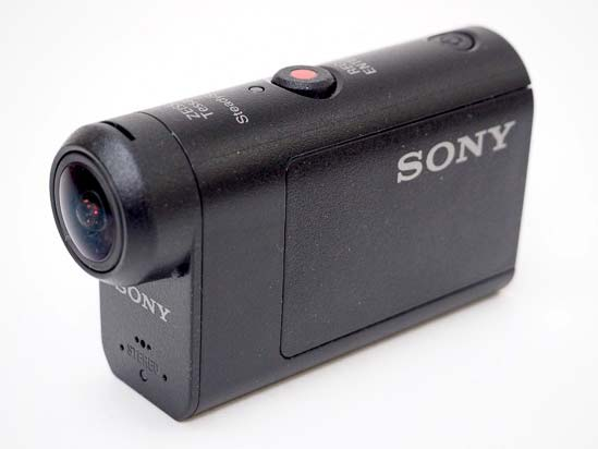 Side of the Sony HDR-AS50